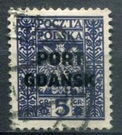 Danzig Port Gdansk Mi# 20 Gestempelt/used - Coat Of Arms - Dantzig