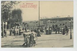 BAGNOLET - Les Plaisirs Du Dimanche - Le Repos Sur Les Fortifications - Bagnolet