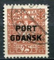 Danzig Port Gdansk Mi# 22 Gestempelt/used - Coat Of Arms - Dantzig