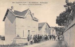 """17-ILE-D'OLERON- SAINT-TROJAN- VILLA """"ELIANE """" ET ROUTE DU SANATORIUM - Ile D'Oléron"""
