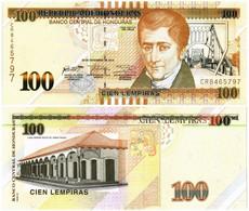 HONDURAS 100 LEMPIRAS 2016 P 102c - UNC - Honduras