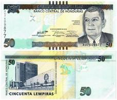 HONDURAS 50 LEMPIRAS 2016 P NEW - UNC - Honduras