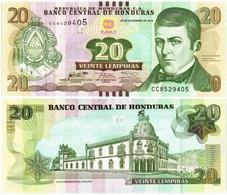 HONDURAS 20 LEMPIRAS 2016 P 100c - UNC - Honduras