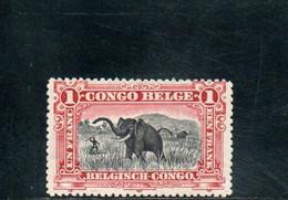 CONGO BELGE 1910 * - 1894-1923 Mols: Nuevos