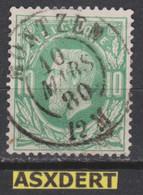 N° 30 DC  Montzen 1880 - 1869-1883 Leopold II