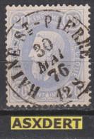 N° 31 DC  Haine-St-Pierre 1876 - 1869-1883 Leopold II
