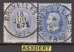 N° 31 SC Bruxelles DU. 1874 - Bruxelles 5 / 1882 - 1869-1883 Leopold II