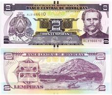 HONDURAS 2 LEMPIRAS 2019 P NEW - UNC - Honduras