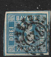 Bayern,  Gestempelter Wert Der Ausgabe Von 1850 - Bavaria