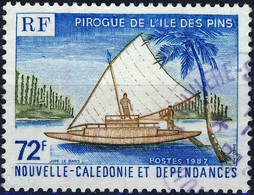 535 PIROGUE   OBLITERE ANNEE1987 - Used Stamps
