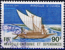 536  PIROGUE   OBLITERE ANNEE1987 - Used Stamps