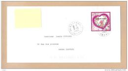 Y&T N° 4327 20g  Sur Lettre Prioritaire - Saint Valentin- Coeur 2009 - Emanuel Ungaro - CAD Circulaire Du 2.6.2009. TB. - 1961-....