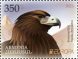 Armenia Armenien MNH** 2021 Europa CEPT. Endangered National Wildlife - Armenia