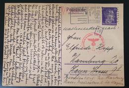 Deutsches Reich 1942, ZENSUR Postkarte AMSTERDAM - Sehr Selten!! - Covers & Documents