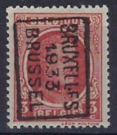 HOUYOUX Nr. 192 Voorafgestempeld Nr. 6034 B   BRUXELLES 1933  BRUSSEL ; Staat Zie Scan ! - Rolstempels 1920-29