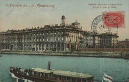 SAINT-PETERSBOURG - Palais D'Hiver Et Néva - Russia
