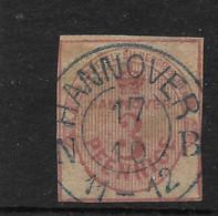 Hannover,  Guter Gestempelter Wert Der Ausgabe Von 1859 - Hanover