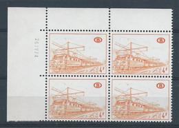 TR  381 B2** EN BLOC DE 4 AVEC COIN DATE - 1952-....