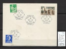 Algerie - FILFILA SAS - Hexagonal - 1957 - Covers & Documents