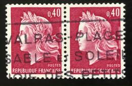 France - République Française - D2/23 - (°)used - 1970 - Michel 1649  - Marianne - Type Cheffer - Usados