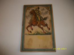 TRES TRES RARE!!!! Petit Livre En Allemand Gothique KRIEG Und FRIEDEN - Old Books
