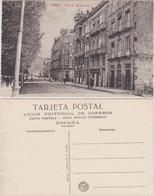 Postales Vigo Calle De La Victoria 1928  - Non Classificati