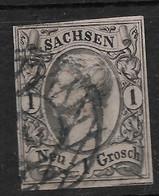 Sachsen, Guter  Klassischer Wert Der Ausgabe Von 1855 - Saxony