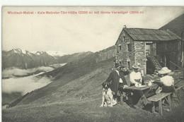 Windisch-Matrei, Kals-Matreier-Törl-Hütt E Mit Gross-Venediger, 1913  (not Circulated) - Matrei In Osttirol