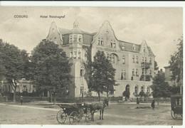 Coburg Hotel Reichsgraf (not Circulated) - Coburg