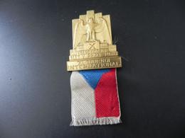 Pin Czechoslovakia - XI. Tournoi International - Vsesokolsky Slet V Praze 1938 - Zonder Classificatie