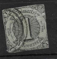 Thurn & Taxis,  Klassischer Wert Der Ausgabe Von 1852 - Thurn En Taxis