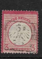 Deutsches Reich, Schöner  Wert Der Ausgabe Von 1872, Kleines Brustschild - Gebruikt