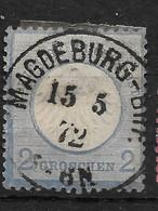 Deutsches Reich, Schöner  Wert Der Ausgabe Von 1872, Kleines Brustschild - Used Stamps