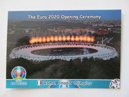 EURO 2020 Opening Ceremony Rome, Italy. Stadio Olimpico - Stadiums