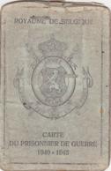 Carte De Prisonnier De Guerre 1940-1945 - Collections