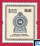 Sri Lanka Stamps 2002, High Value Definitive, MNH 1 Of 2v - Sri Lanka (Ceylon) (1948-...)