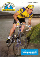 CARTE CYCLISME CLAUDIO TORELLI SIGNEE TEAM SAMMONTANA 1984 - Radsport