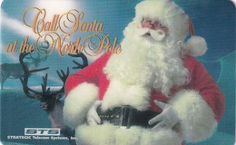 USA - Santa Claus, Call Santa At North Pole, STS Promotion Prepaid Card, Exp.date 01/10/97, Used - Unclassified