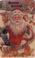 USA - Santa Claus, Seasons Greetings, USAcard Prepaid Card $5, Tirage 5000, Mint - Unclassified