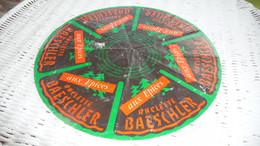 ETIQUETTE DE FROMAGE    24 CM RACLETTE BAESCHLER AUX EPICES - Formaggio