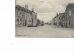 57 - WOIPPY - Rue De Briey. Animée, CPA Ayant Circulé. BE. - Autres Communes