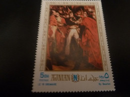 AJMAN - Le 18 Brumaire - 5dh - Postage - By Bouchot - Multicolore - Neuf - - Ajman