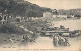 H2108 - VIENNE - D38 - Le Quai Du Viaduc Et Le Quai Pajot - Vienne