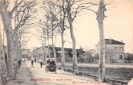 BAGES - Route D'Elne - état (décollée) - Otros Municipios
