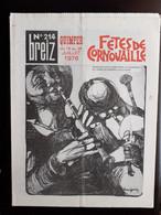 REVUE BREIZ MAGAZINE DE LA JEUNESSE BRETONNE N° SPECIAL FETES DE CORNOUIAILLE QUIMPER - Bretagne
