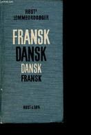 Fransk Dansk, Dansk Fransk Lommeordboger - Hosts - 1972 - Dictionaries