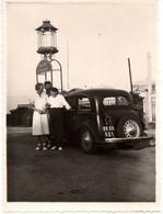 Automobile à Falicon C.1930-40 Restaurant THE DE LA REINE Photo 11x8.5cm - Cars