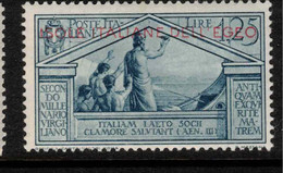 DODECONESE IS 1930 1l25c Virgil SG 49 HM #ASQ11 - Ägäis (Aut. Reg.)