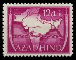 BES. 2WK NAT INDIEN Nr VI-A Postfrisch X88A302 - Occupation 1938-45