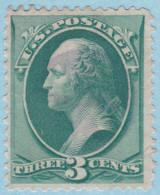 United States Of America 1873 SC#158 UH Purple Cork Cancel - Ungebraucht